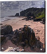 Rocks On The Shore Acrylic Print