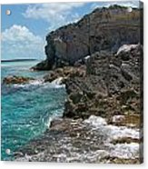 Rocky Barrier Island Acrylic Print