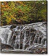 Rocky Cascade Acrylic Print