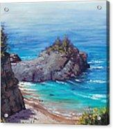 Rocky Coast Big Sur  Acrylic Print