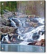 Rocky Falls Acrylic Print