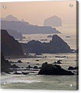 Rocky Headlands On The Big Sur Coast Acrylic Print