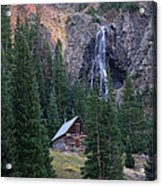 Rocky Mountain Hideaway Acrylic Print