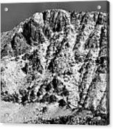 Rocky Mountain Ridges Acrylic Print