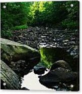 Rocky River Acrylic Print by Joyce Kimble Smith