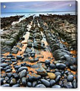 Rocky Road To Nowhere Acrylic Print by Mark Leader