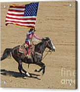 Rodeo Colors - A Acrylic Print