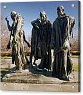 Rodin: Burghers Of Calais Acrylic Print