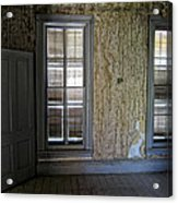 Roe - Graves House Interior - Bannack Ghost Town Acrylic Print
