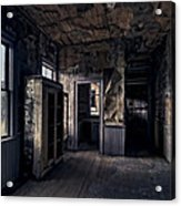 Roe - Graves House Kitchen Of Bannack Ghost Town - Montana Acrylic Print