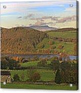 Roe House Overlooks Ullswater Near Pooley Bridge In The Lake District Acrylic Print
