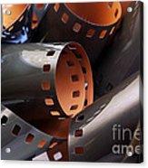 Roll Of Film Acrylic Print