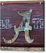 Roll Tide - Medium Acrylic Print