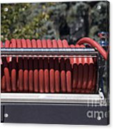 Rolled Fire Hose Acrylic Print