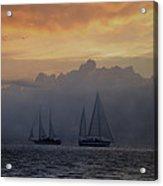 Rolling Fog Bank - Key West Acrylic Print