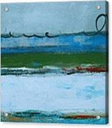 Rolling On The Blue II Acrylic Print