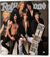 Rolling Stone Cover - Volume #612 - 9/5/1991 - Guns 'n Roses Acrylic Print