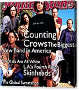 Rolling Stone Cover - Volume #685 - 6/30/1994 - Counting Crows Acrylic Print