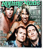 Rolling Stone Cover - Volume #839 - 4/27/2000 - Red Hot Chili Peppers  Acrylic Print