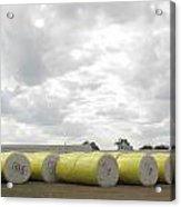 Rolls Of Cotton Acrylic Print