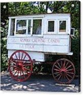 Roman Candy Wagon Acrylic Print