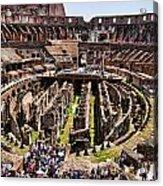 Roman Coleseum Interior Acrylic Print