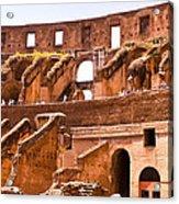 Roman Coliseum Interior Acrylic Print