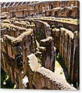 Roman Coliseum Underground Acrylic Print