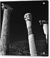 Roman Columns. Acrylic Print