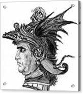 Roman Gladiator Acrylic Print