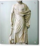 Roman Statue Of Asclepius Acrylic Print