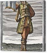Roman Trumpet, 1723 Acrylic Print