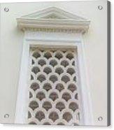 Roman Window Villa Acrylic Print