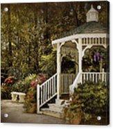 Romantic Garden Acrylic Print