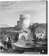 Rome: Appian Way, 1833 Acrylic Print