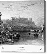 Rome: Aventine Hill, 1833 Acrylic Print