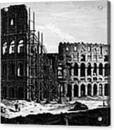 Rome: Colosseum, C1864 Acrylic Print