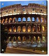 Rome Colosseum Dusk Acrylic Print