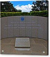 Ronald Reagan Memorial Acrylic Print