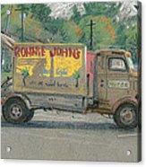 Ronnie John's Beach Cafe Acrylic Print