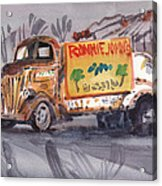 Ronniejohn's Four Acrylic Print