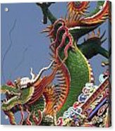 Roof Dragon Acrylic Print