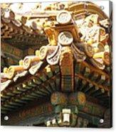 Roof Of Forbidden City Acrylic Print