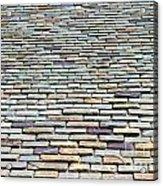 Roof Tiles Acrylic Print