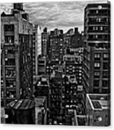 Rooftop Bw16 Acrylic Print