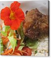Rooibos Meal Acrylic Print