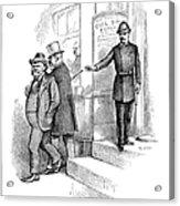 Roosevelt Cartoon, 1884 Acrylic Print
