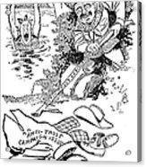 Roosevelt Cartoon, 1902 Acrylic Print