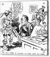 Roosevelt Cartoon, 1934 Acrylic Print