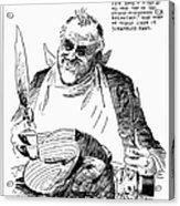 Roosevelt Cartoon, 1938 Acrylic Print